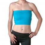 2NE1 Apparel Women's Basic Stretch Layer Seamless Tube Bra Bandeau Top